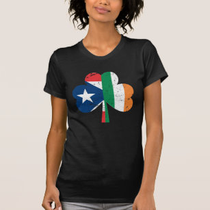 1c2305f8b St Patricks Day Ireland Irish Puerto Rican T-Shirt