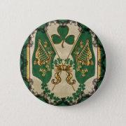 St. Patrick's Day Irish Button