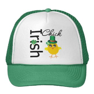 St. Patrick's Day Irish Chick hat
