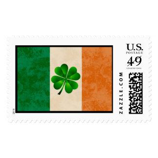 St. Patrick's Day Irish Flag Postage