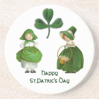 ST PATRICK'S DAY- IRISH GIRLS DRINK COASTER