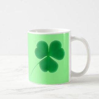 St. Patrick's Day Irish Green Clover Coffee Mug