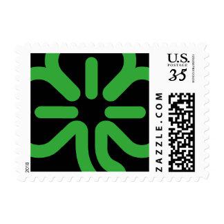 St Patricks Day Irish Green Shamrock 3 Leaf Clover Postage