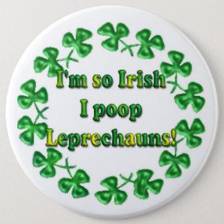 St. Patrick's Day Irish Humorous Buttons Pins