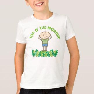 St Patrick's Day Irish Kids Shamrock Greeting T-Shirt
