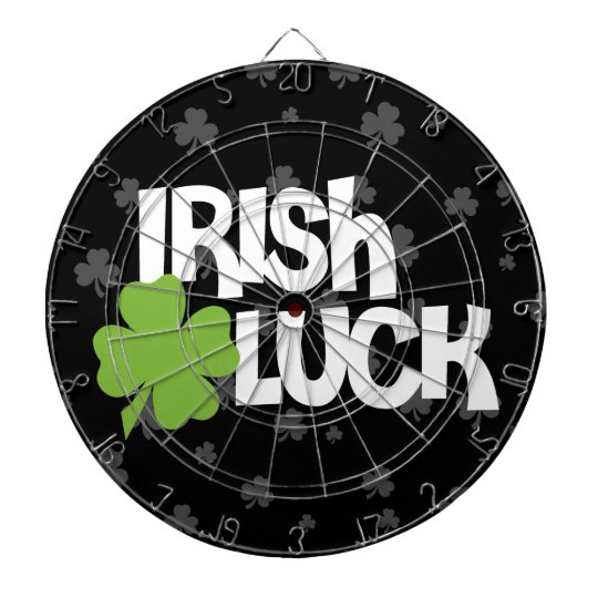 St. Patrick's Day Irish Luck Dartboard