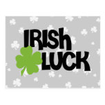 St. Patrick's Day Irish Luck Post Cards