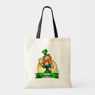 St. Patrick's Day Irish Maiden Tote Bag