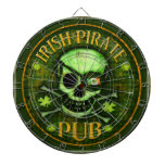 St. Patrick's Day Irish ProfiledInk Dart Board
