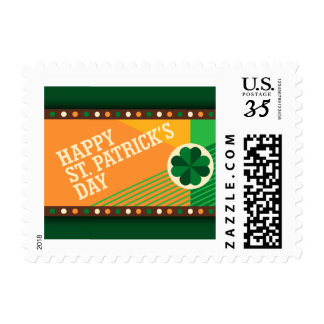 St Patrick's Day Irish Shamrock Party Postage