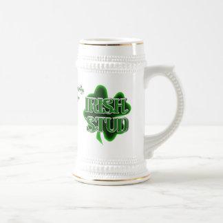 St. Patrick's Day Irish Stud Beer Stein