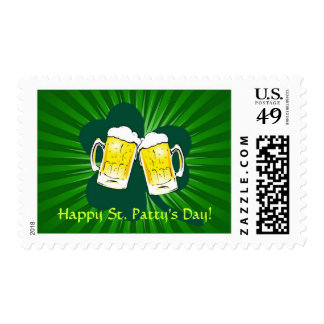 St. Patrick's Day Irish Toast Postage Stamp