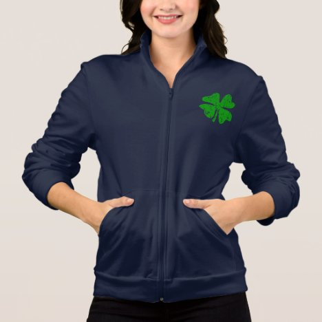 St Patrick's Day jacket for women | Green shamrock