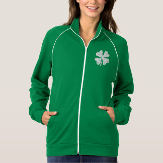 St Patrick's Day jacket for women | shamrock green
