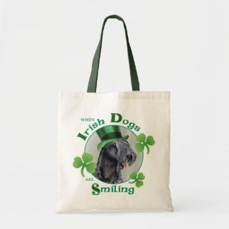 St. Patrick's Day Kerry Blue Terrier Tote Bag