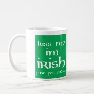 St Patricks Day Kiss Me Coffee Mug