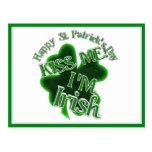 St Patrick's Day  - Kiss Me, I'm Irish! Postcard