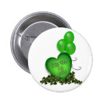 St Patricks Day Kiss me Im Irish Balloons Buttons