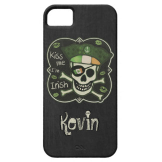 St. Patrick's Day Kiss Me I'm Irish Pirate iPhone 5 Covers