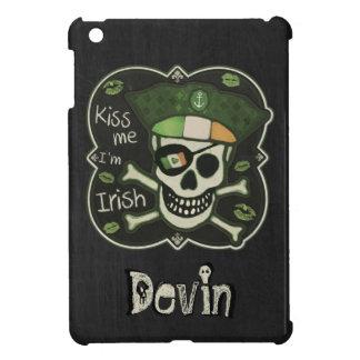 St. Patrick's Day Kiss Me I'm Irish Pirate iPad Mini Cover