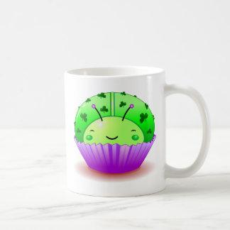 St. Patrick's Day Ladybug Cupcake Mug