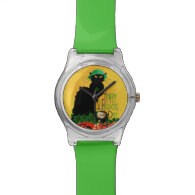 St Patrick's Day - Le Lucky Chat Watch