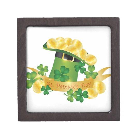 St. Patricks Day Leprechaun Hat Gift Box