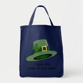 St. Patrick's Day leprechaun hat. Tote Bag