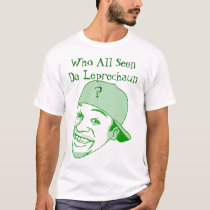 St. Patrick's Day : Leprechaun Mobile Alabama T-Shirt