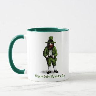 St. Patrick's Day Leprechaun Mug