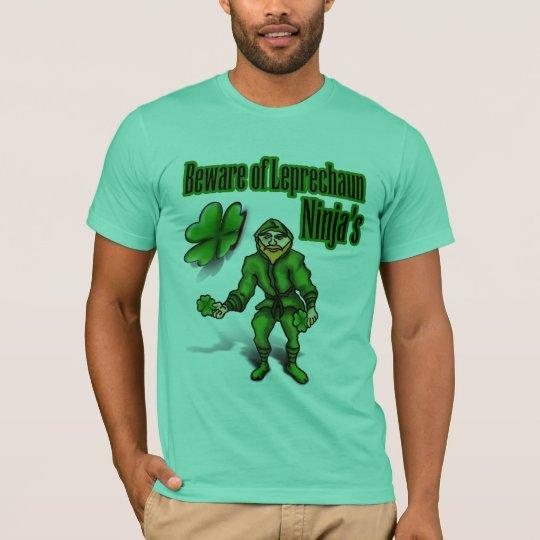 St. Patrick's Day, leprechaun ninja T-Shirt