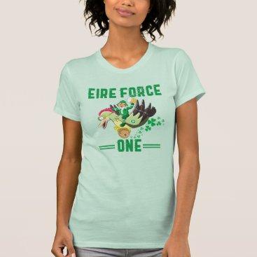 St Patrick's Day Leprechaun Pilot For Veterans T-Shirt