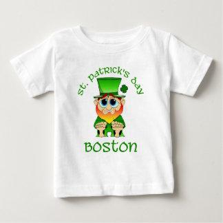 St Patricks Day ~ Lil Blarney Boston Baby T-Shirt