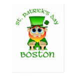 St Patricks Day ~ Lil Blarney Boston Postcard