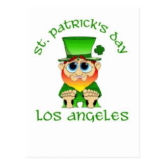 St Patricks Day ~ Los Angeles Postcard