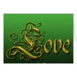 St. Patricks Day Love Card