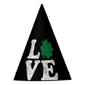St Patrick's Day LOVE Shamrock Irish Party Hat
