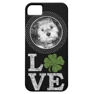 St Patricks Day Love with Irish Shamrock and Photo iPhone SE/5/5s Case