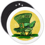 St Patricks day - Luck o the Green Pinback Button