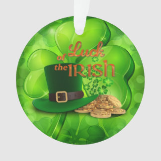 "St. Patrick's Day - ""Luck of the Irish"" - Shamrock"