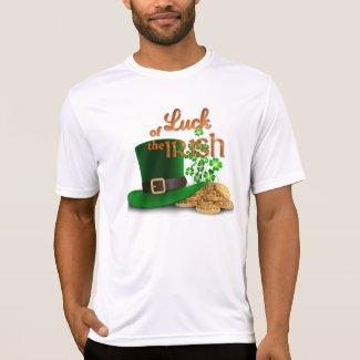 """St. Patrick's Day - """"Luck of the Irish"""" Tshirt"""