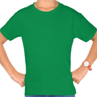 St. Patricks Day Lucky Charm Clover Girls Tee Shirt