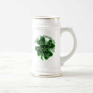 St. Patrick's Day Lucky Drinking Mug