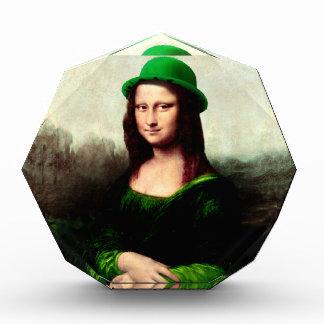 St Patrick's Day - Lucky Mona Lisa Award