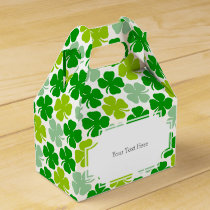 St. Patrick's Day Lucky Shamrock Favor Box