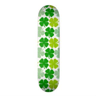 St. Patrick's Day Lucky Shamrock Skate Board Decks