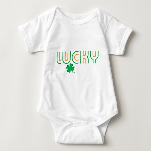 St. Patrick's Day Lucky Shirt in Irish Flag Colors