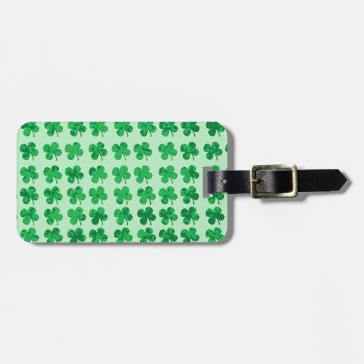 St. Patrick's Day Luggage Tags