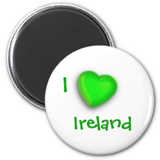 St Patrick's Day 2 Inch Round Magnet