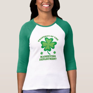 St. Patrick's Day Marketing Department T-Shirt